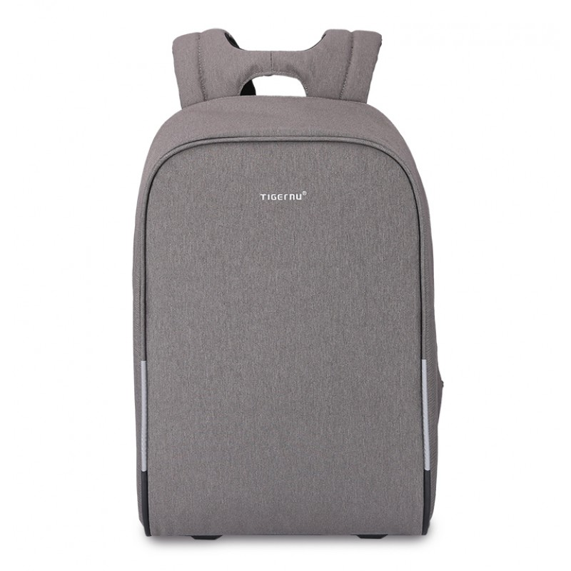 3f76c463a4 Tigernu Σακίδιο πλάτης Laptop 15.6   με θύρα USB Σκούρο Γκρι T ...