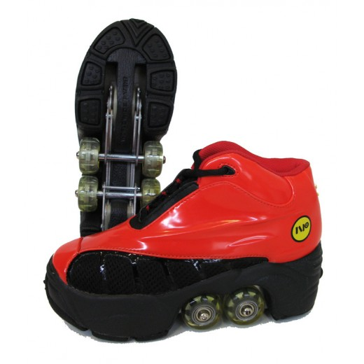 Rollers Πατίνια Skate Kick Roller (quad) Κοκκινο NP-223-RB